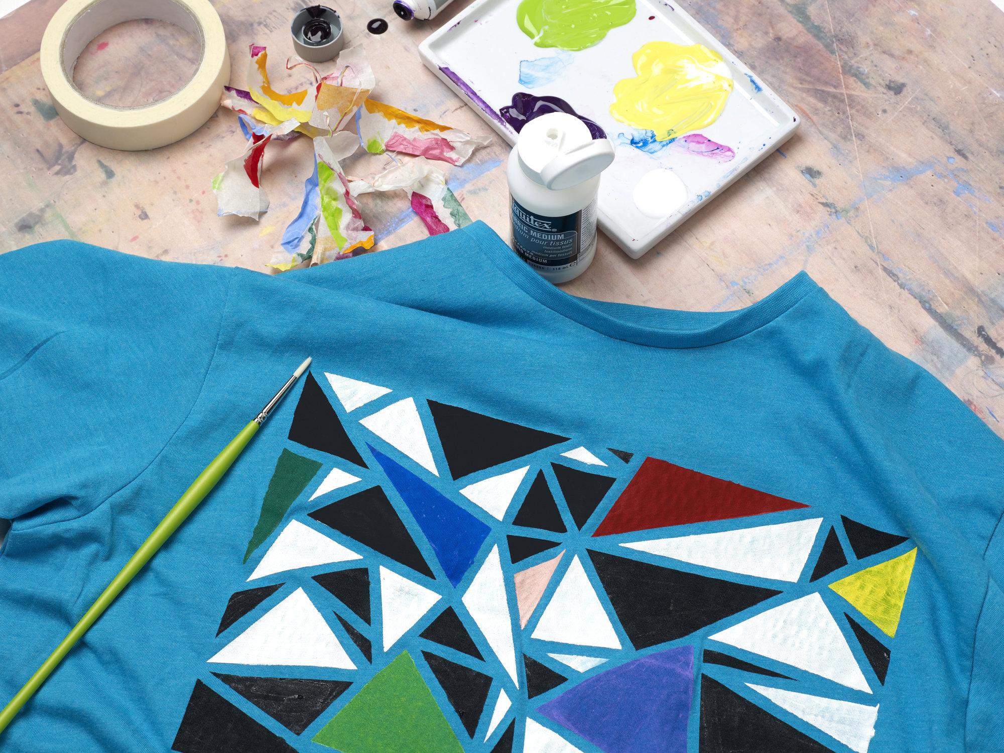 Painting On Fabric Liquitex