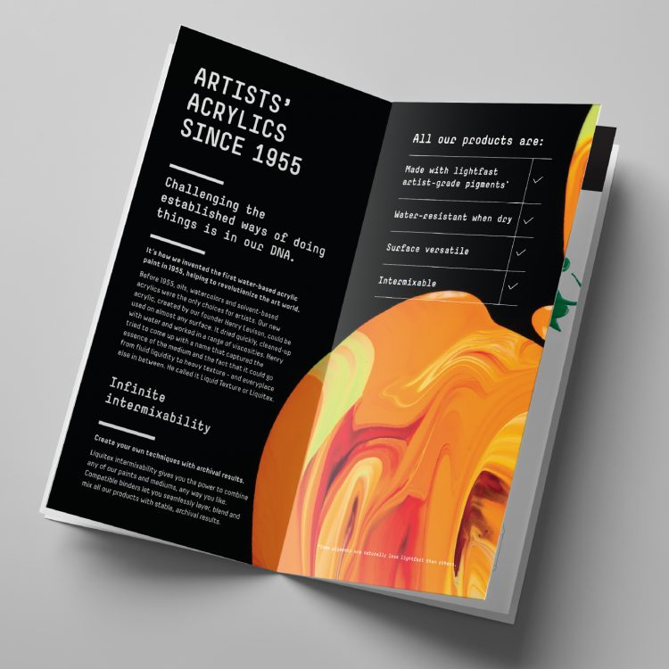 Liquitex intermixable product booklet