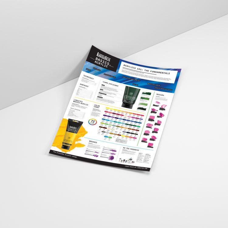 Liquitex Basics Acrylic Product Poster
