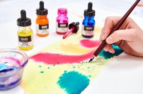 Acrylic Ink Residency