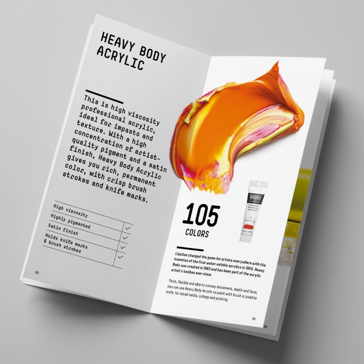 Liquitex Heavy Body Product Booklet