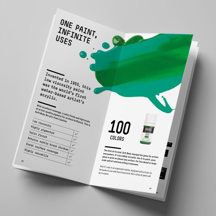 Liquitex Soft Body Product Booklet