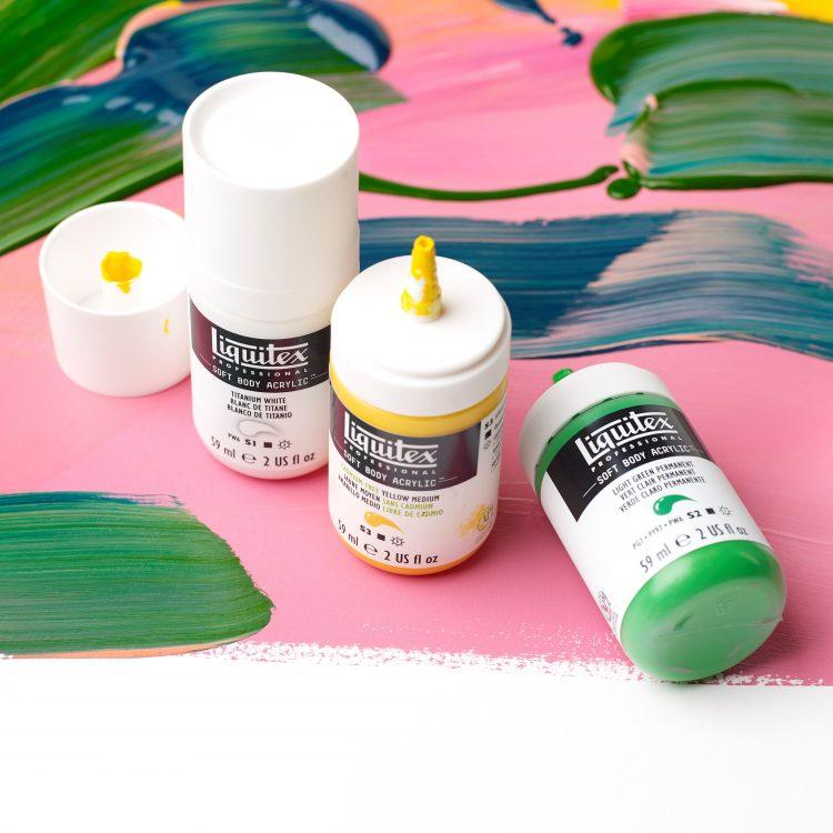Colors & mediums demo Project Sheet