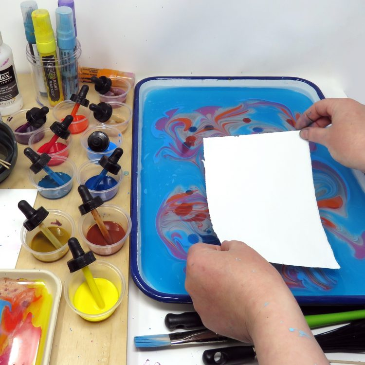 Paper marbling Project Sheet