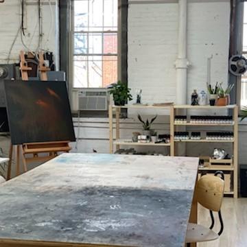residency program studio space