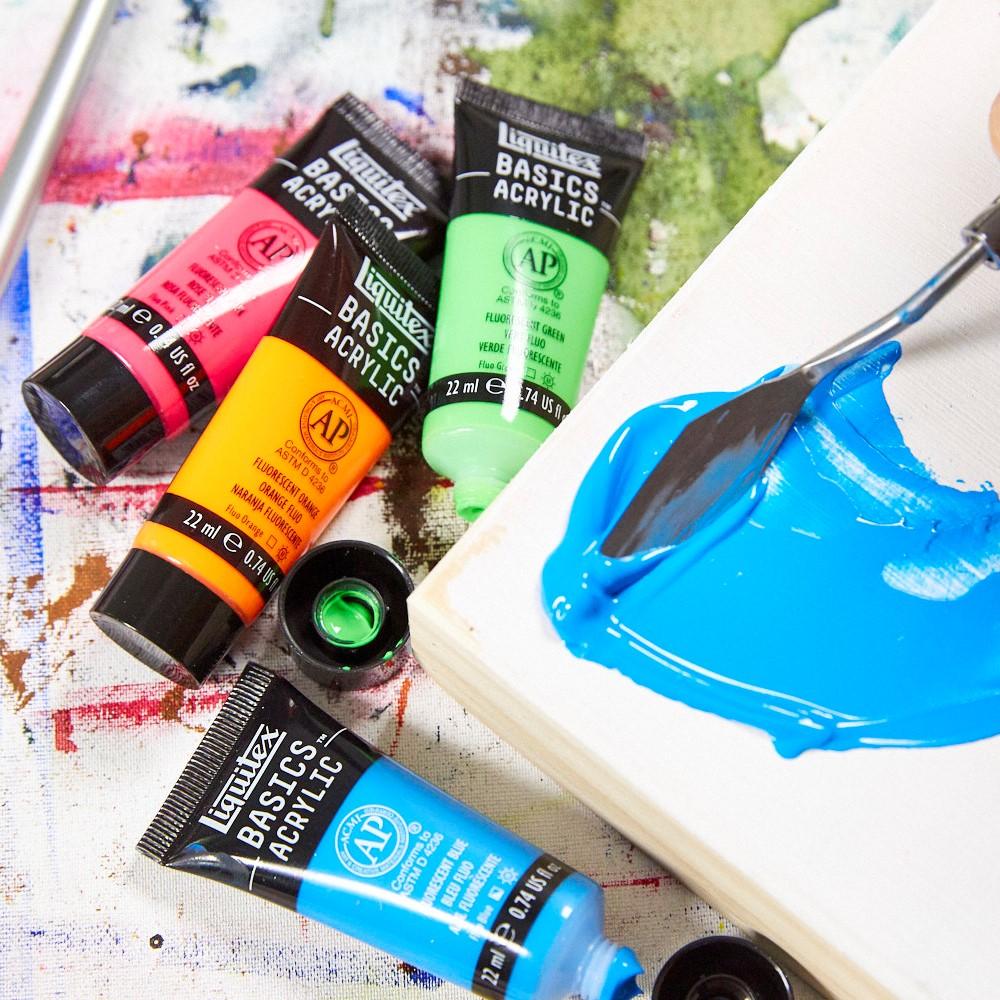 Basics acrylic paint