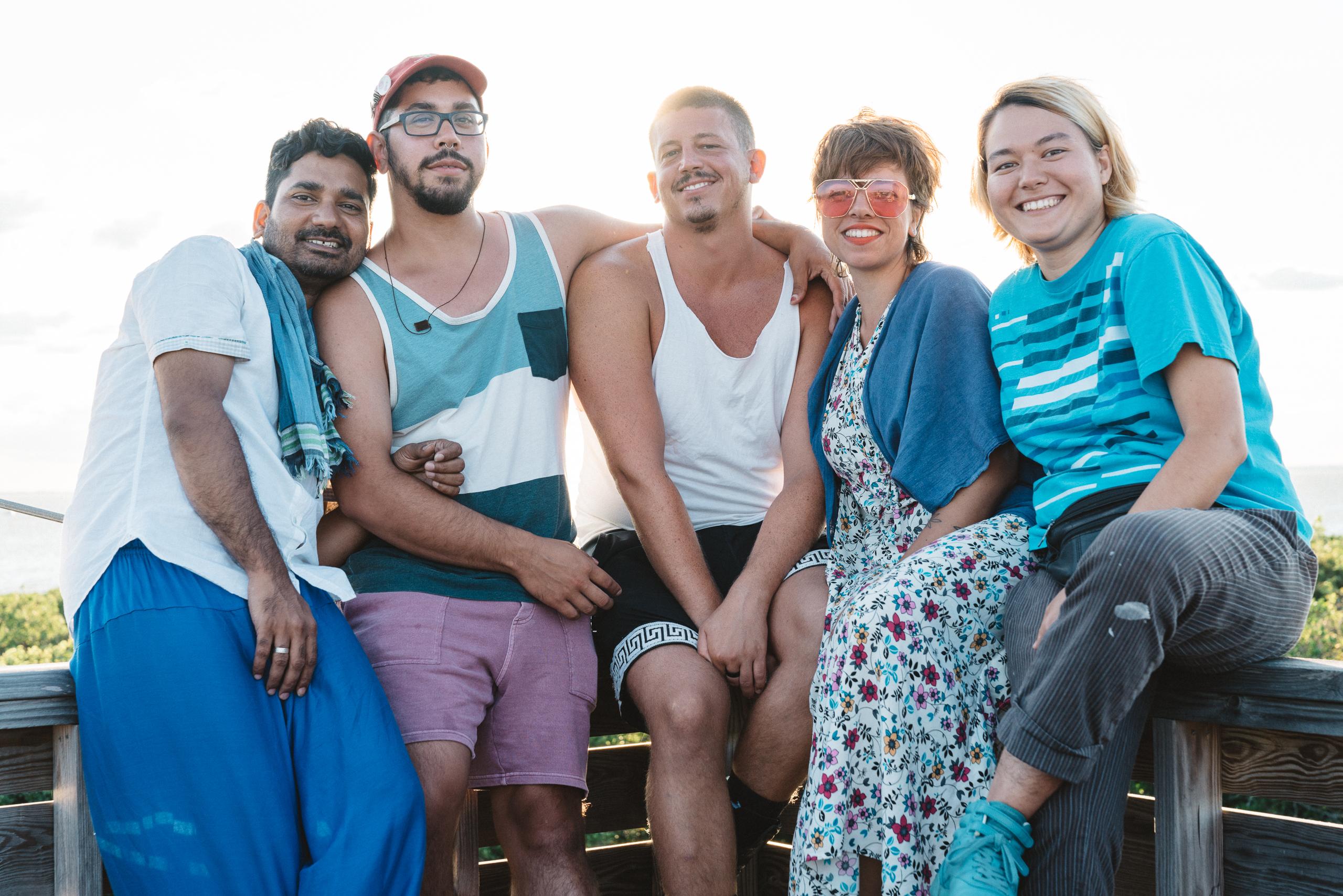Fire Island Artist Residency Program Group